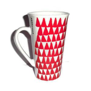 Starbucks Kitchen - Starbucks Christmas Mug Red Trees 2016 Holiday